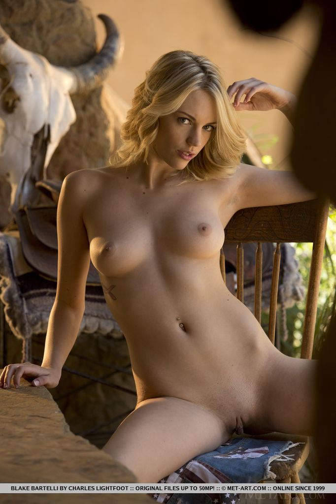 Presenting Hot Blonde Blake Bartelli By Charles Lightfoot
