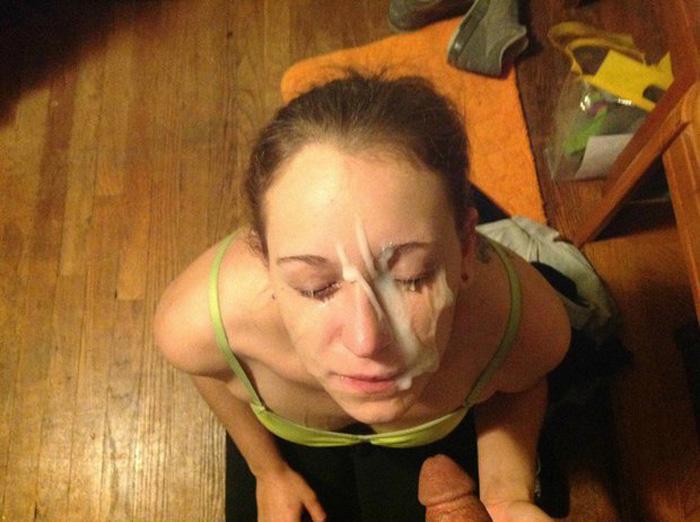 Amateur Girls Cum On Face 22